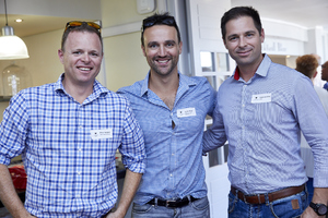 Elton Holland (Ikon Property Group), Andre Krige (Urban On Property Developments), Matthew Lilley (Arup)