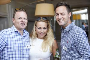 Elton Holland, Nina Steininger (Ikon Property Group), Jason Elley (Rabie Property Administrators)
