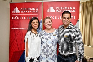 Ronika Inarman (Ballito Junction ), Michelle Shelley (Primedia Unlimited Malls), Askash Maharaj ( Cushman Wakefield Excellerate)