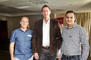 David Altshuler (MD Trading), Peter Tillard , Akash Maharaj (Cushman Wakefield Excellerate)
