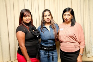 Yasmin Naidoo, Tashni Padayachee, Savy Perumal (JLR Services & Warehousing)