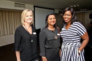 Lee-Ann Reid (MSP Group), Anna Nirmal (Legit & Beaver Canoe & Style), Ayanda Madondo (MSP Group)