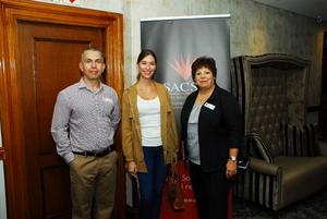 Marc King (Pie City Holdings) Najla Swiegers, (Bespoke Marketing), Eleanor Roque (Fidelity Security Services)
