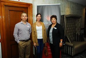 Marc King (Pie City Holdings) Najla Swiegers, (Bespoke Marketing), Eleanor Roque (Fidelity Security Services)