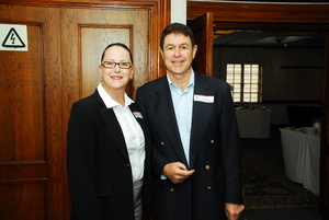 Dsiona Greeff (JKH Consulting), Paul Moses (Solareff)