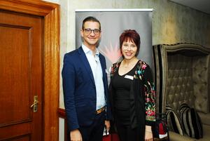 Gerri Botha (Redefine), Letitia Greyling (Mgwezi Brand Manufacturers)