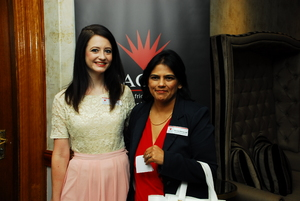 Aileen Rodel (Primedia Interactive), Remica Athmaram (Growthpoint)