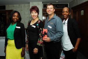 Veronica Mabunda, Letitia Greyling, Lebo Khetsi, Shaun van der Westhuizen (Mgwezi Brand Manufacturers)