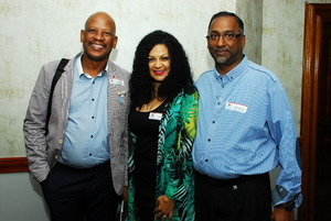 Colin George, Caley May, Jose Maponyane (Redefine)