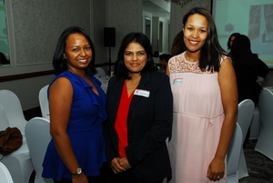 Janice Coopoosamy (Fourways Crossing), Remica Athmaram, Charis Classen (Growthpoint)