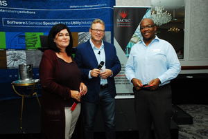 Laetitia Zillen (Redefine), Ian Rheeder (Markitects), Brian Mncube (Spectrum Valuations & Asset Solutions)