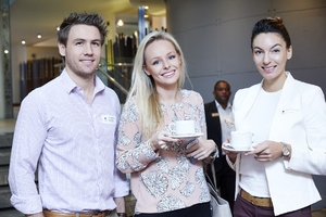 Chris McMaster (Rabie Property Administrators), Lara Shenk (Horizon Capital), Justine Adriaanzen (Fairvest Property Holdings)