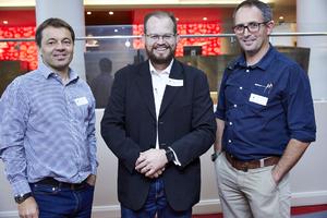 Francois Coetzer (RSS), Riaan van Wyk (Woolworths), Hennie van Wyk (RSS)