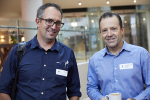 Hennie van Wyk (RSS), Brad Rothenburg (Foschini Retail Group)