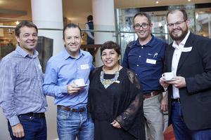 Francois Coetzer (RSS), Brad Rothenburg (Foschini Retail Group), Brenda Bibby (Cushman Wakefield Excellerate), Hennie van Wyk (RSS), Riaan van Wyk(Woolworths)