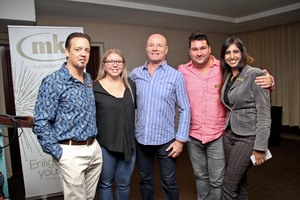 Brad Jacklin (Toys R Us), Michelle Shelley (Primedia Unlimited), Brett Archibald, Lee Rasmussen (MK Illumination), Nazrana Premlall (Growthpoint Properties)