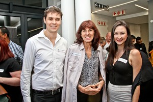 Warren Bradfield (Stealth 360), Thelma Zietsman  & Kellie Ettmayr (Growthpoint)