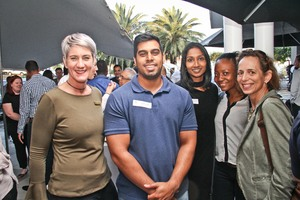 Michelle Christian (The Pavilion)Ruchir Singh, Genie Govender Nondumiso Ntsele, Lisette keightley (Betts Townsend)