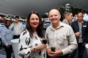 Vanessa Blevins (Growthpoint), Richard Pearton(Thorpe & Hands Attorneys)
