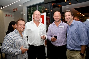 Leon Erasmus (TBG), Wally Pelser (The Venture Group), Wayne Shelley (Growthpoint), RohanDaniel (Focus Project Management)