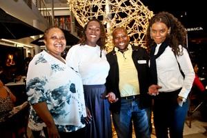 Gugu Dlamini ( Sizovuna Investments), Simphumelelo Khuzwayo (Broll), Muzi (Debonairs), Zinhle Zungu (Broll)