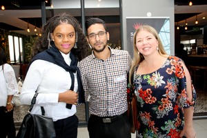 Zinhle Zungu (Broll), Raeshin Veerasamy (Broll) Michelle Shelley (Cushman Wakefield excellerate)