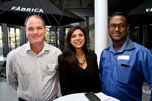 David Coombe (CPA Security) Ronica Inarman (Ballito Junction)Levy  (CPA Security)