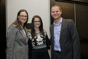 Ruchelle Mouton(Primedia Outdoor), Eileen Rodel, Danie van Aswegen (Primedia Unlimited Malls)