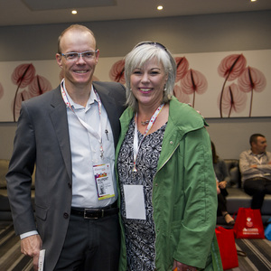 Rupert Pohl (Sasol Pension Fund) Linda Jones (Broll)