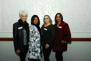 Dionne Rex, Nishana Behasi, Marjike Arran, Vanessa Robinson (Retail Network Services)