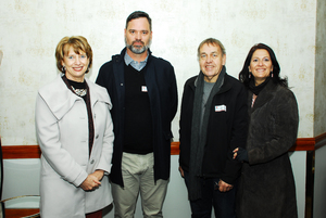 Sharon Herbst ( Retail Network Services)Gaston van den Berg (PEC Utilities)Eugene Potgieter, Janine Rousseau(Retail Network Services)