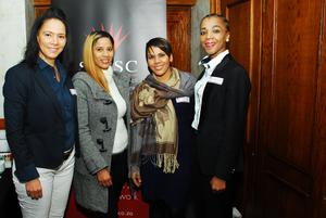 Loveina Chummie, Carol-Lee Payne, Nicole Crowie, Thato Mocwaledi (Cushman & Wakefield Excellerate)