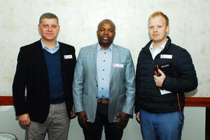 Jaco Hay, Zamubuntu Mnyazi, Stephan Kruger (Standard Bank)