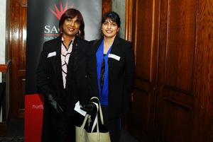 Veena Paul, (Nonku Ntshona & Associates QS)Rookshana Carrim (FNB)