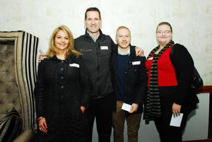 Elsje Bodenstein, Jason Nel, Josua Botha, Joanne Johnson (Flanagan & Gerard)