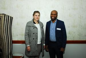 Tertia Eloff, Phumzile Ngcangiso(FNB)