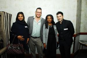 Meryl Bessesar (Finlay Mall Leasing)Gavin Tannenbaum (City Property)Masego Maseko, Pascal Stratis (Investec)