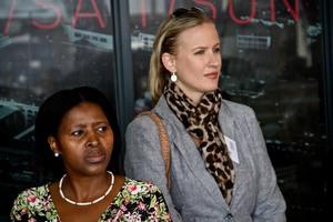 Bonisiwe Nkosi (Sizovuna Investments) Cindene Sheasby(Growthpoint)