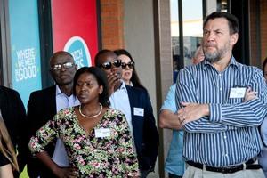 Bonisiwe Nkosi(Sizovuna Investments), Wynand du Preez(Redefine)