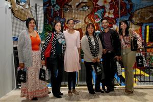 Julie Ishwar, Nishtha Sanichur (CW Exellerate), Adeela Haffejee (Broll), Eshara Naidoo (CW Excellerate), Raveshin Veerasamy, Venilla Basdev (Broll)