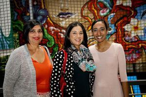 Julie Ishwar, Nishtha Sanichur (CW Excellerate), Adeela Haffejee (Broll)