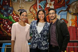 Adeela Haffejee, Raveshin Veerasamy (Broll), Rubecca Khan (CW Excellerate)