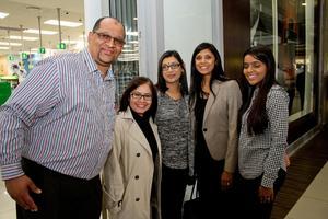 Feysel Potgieter, Ayesha Sewbaran (CW Excellerate), Nalene Dilraj (Broll), Ronica Inarman (Ballito Junction), Ivana Chetty (Broll)