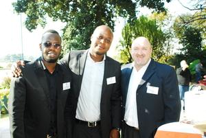 Jaysen Mulaudzi (redefine) Rungano Gwarada, Dominic Ford (Absa)