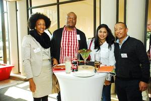 Mamphake Rachidi (Total SA) Andile Mgudlwa (Tsebo Facilities Solutions) Prandesha Govender (Nedbank) Stanton Alberts ( Realworx Property valuations)