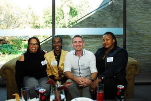 Odette Brown (mowana Properties) Tshepiso Ramela (Rebamoratiwa) Sean Lurie (ENELX) Debra Ndwendwe (Rebamoratiwa)