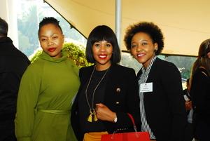 Kululwa Muthwa (KHB Consulting) Fundi Mazibuko (Fullserve)Thuli Zulu (Black Sheep Design)