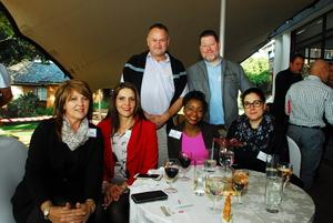 Vivian Aspin (Growthpoint) Wilma Savio, Martin Hoffman, Ngoni Boora, Tim Maclean, Anabela Lourenco (Broll)