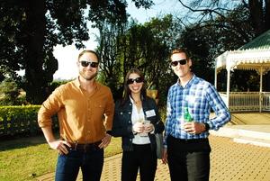 Anthony Burns (Green power) Karen Pennington, Jason Nel (Flanagan & Gerard)