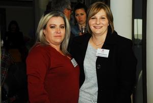 Marijke Arran (Retail Network services) Celeste Summerton (Northplan Business Solutions)